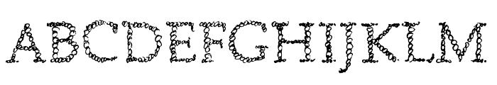 Boublies Font UPPERCASE