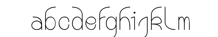Bouddha Moon Font LOWERCASE