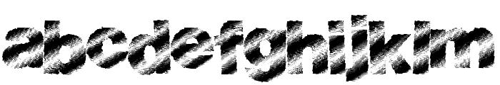 BouldLight Font LOWERCASE