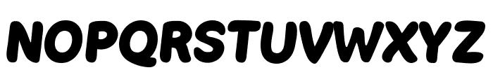 Boulodrome Bold Font UPPERCASE