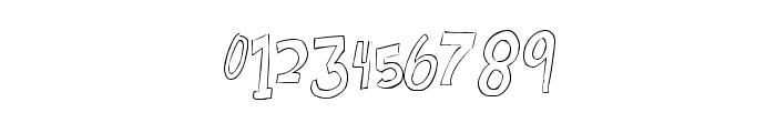 BouncingontheWalls-Regular Font OTHER CHARS