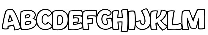 Bouncy PERSONAL USE ONLY Font UPPERCASE