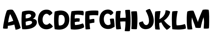Bouncy Thin PERSONAL USE ONLY Font UPPERCASE