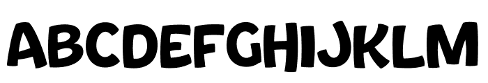 Bouncy Thin PERSONAL USE ONLY Font LOWERCASE