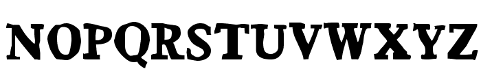 Bountiful Font UPPERCASE