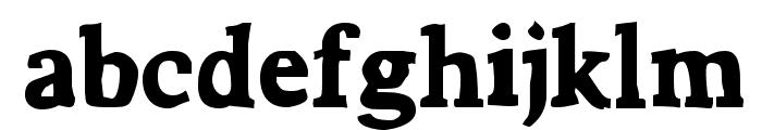 Bountiful Font LOWERCASE