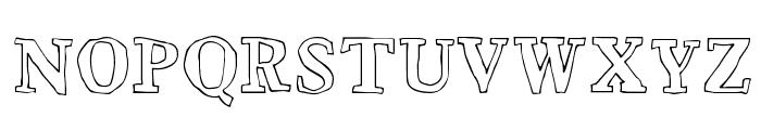 Bounty Font UPPERCASE