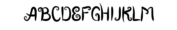 Boutiques of Merauke Font UPPERCASE