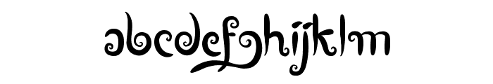 Boutiques of Merauke Font LOWERCASE
