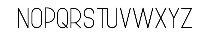 Bowhouse Regular Font UPPERCASE