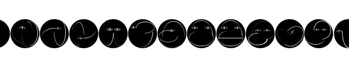 BowingInverse Font UPPERCASE