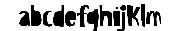 Bowreghul Font LOWERCASE