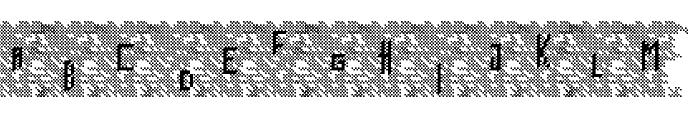 Bowser Rampages Again Regular Font UPPERCASE