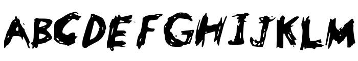 Bowser Font UPPERCASE