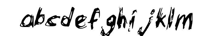 Bowser Font LOWERCASE