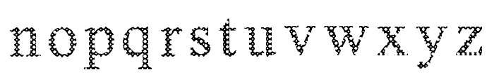 Box And Boxes Font LOWERCASE