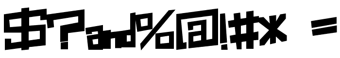 Box-Clever Font OTHER CHARS