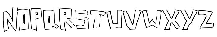 BoxLines Font LOWERCASE