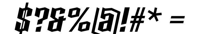 Boxise Font OTHER CHARS