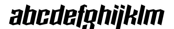 Boxise Font LOWERCASE