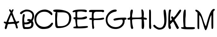 BoyzClubSSK Font UPPERCASE