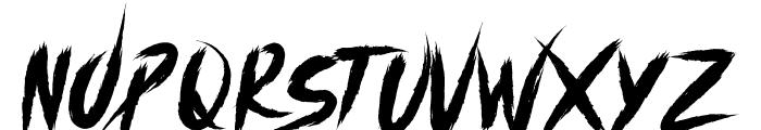 boasterz]  - Demo Font LOWERCASE