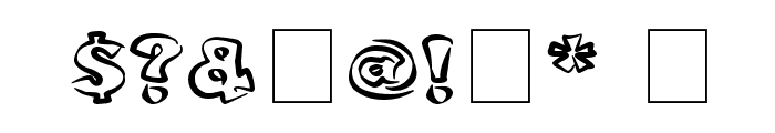 bobotoh Font OTHER CHARS