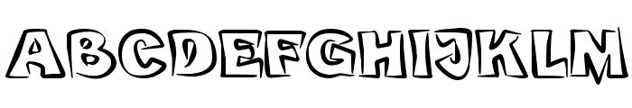 bobotoh Font UPPERCASE