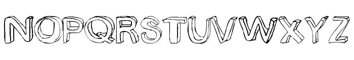 bobsmade font Font UPPERCASE