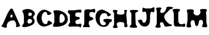 bodypump 1 Font UPPERCASE