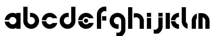 bohemica Font LOWERCASE