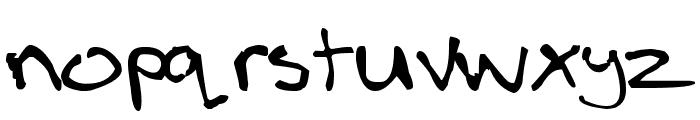boldLOUD Font LOWERCASE