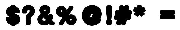 boldbold Font OTHER CHARS