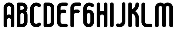 boldyear Font UPPERCASE