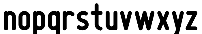 boldyear Font LOWERCASE