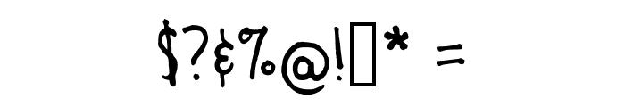 bombefont Regular Font OTHER CHARS