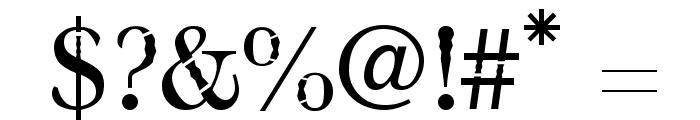 bombu Font OTHER CHARS