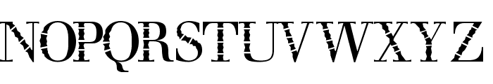 bombu Font UPPERCASE