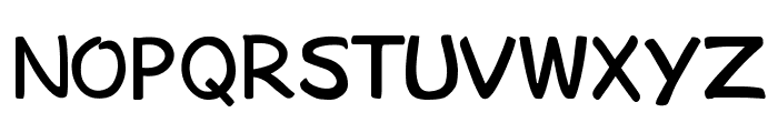 bosil unique Regular Font UPPERCASE