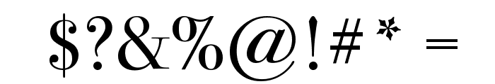 Bodoni 72 Oldstyle Book Font OTHER CHARS