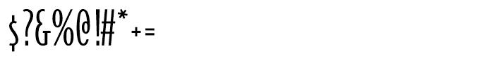 Bodega Sans Light Oldstyle Font OTHER CHARS