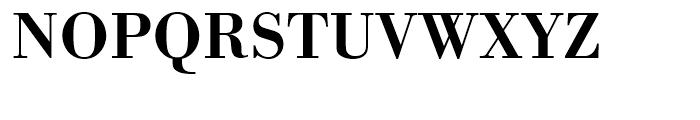 Bodoni Antiqua Demi Bold Font UPPERCASE