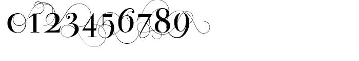Bodoni Classic D Font OTHER CHARS