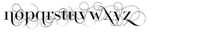Bodoni Classic D Font UPPERCASE