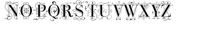 Bodoni Classic Deco Roman Font UPPERCASE