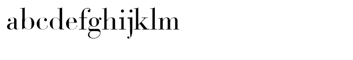 Bodoni Classic Deco Roman Font LOWERCASE