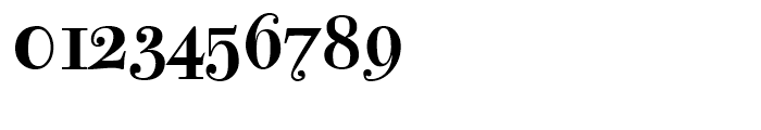 Bodoni Classic Text Bold Font OTHER CHARS