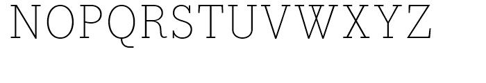 Bodoni Egyptian Extra Light Font UPPERCASE