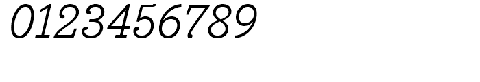 Bodoni Egyptian Regular Italic Font OTHER CHARS