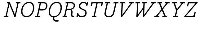 Bodoni Egyptian Regular Italic Font UPPERCASE